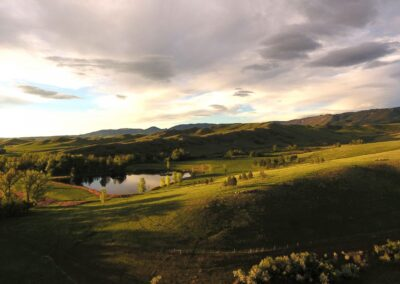 Beaver Creek Ranch Sunset