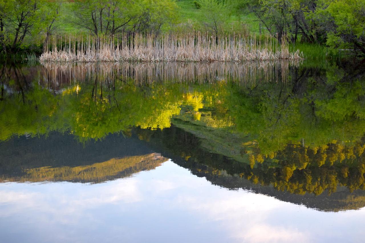 Pass Creek Ranch reflection