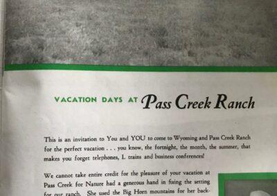 Pass Creek Brochure