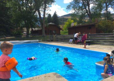 Pass Creek swimming pool