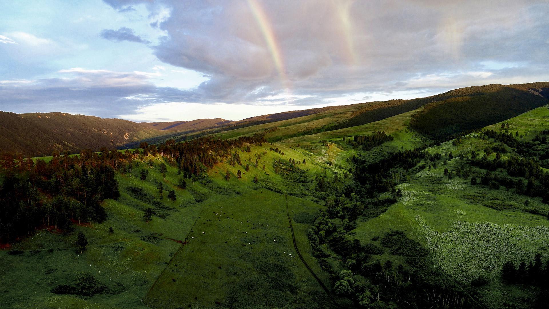 Pass Creek Ranch Rainbow