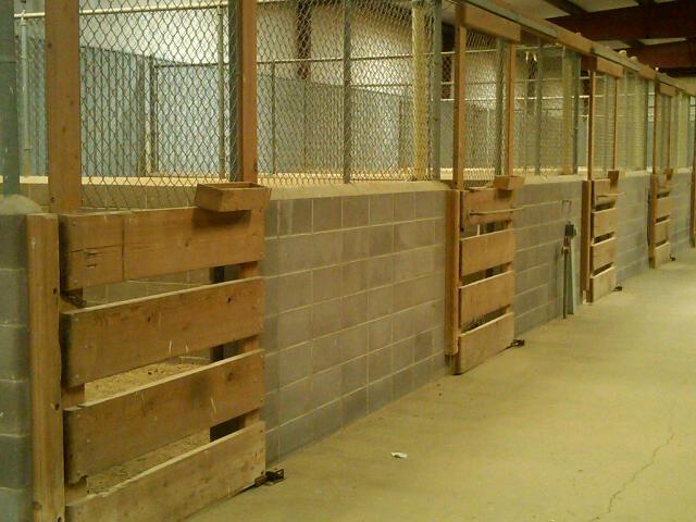 horse-stalls