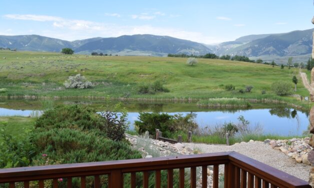 Buffalo Creek Porch View