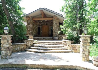 Main home entry