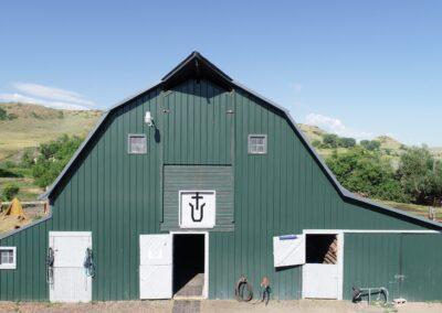Main Horse Barn