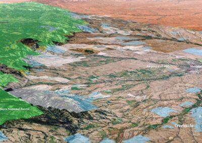 Creekside Ranch 3D Map