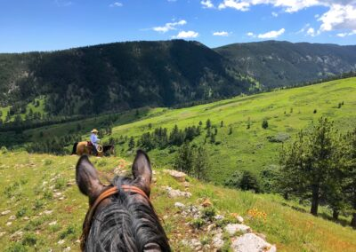 Riding Pass Creek Ranch Wyoming Bighorn Mountain Foothills
