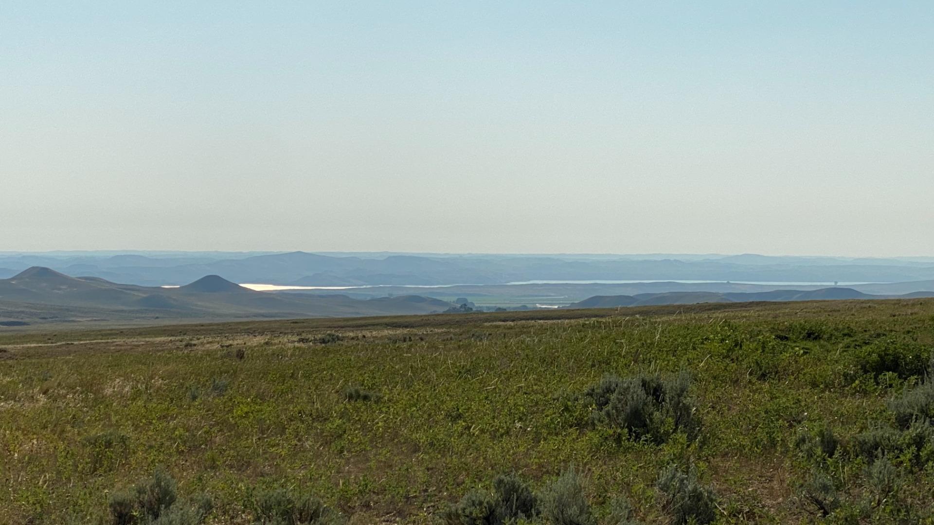 N. Fork Shell Creek Ranch looking toward Lake DeSmet