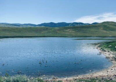Sparks Reservoir on N. Fork Shell Creek Ranch